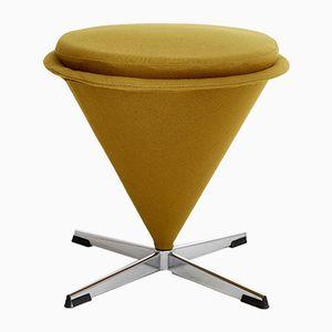 Vintage Cone Stool by Verner Panton for Plus Linje