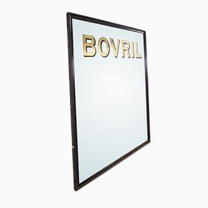 Vintage Bovril Mirror, 1910s