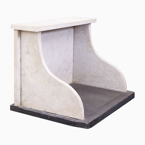 Antique Marble Butter Counter