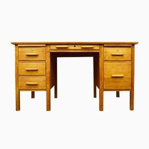 Mid-Century Eichenholz Schreibtisch, 1960er