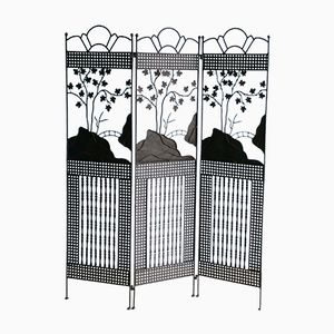 Wrought Iron Art Nouveau Room Divider, 1900s