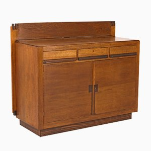 Oak Art Deco Haagse School Sideboard by Anton Lucas, 1920s