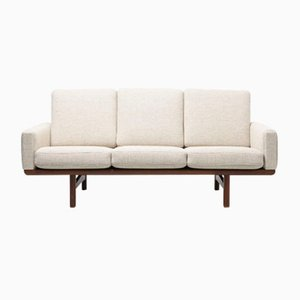 Vintage Model GE 236/3 Teak 3-Seater Sofa by Hans J. Wegner for Getama