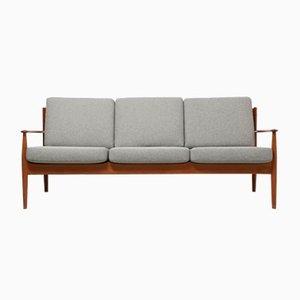 Vintage 3-Sitzer Teak Sofa von Grete Jalk für France & Søn