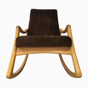 Rocking Chair Vintage de TON, 1960s