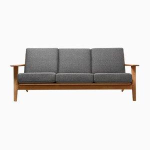 Vintage GE-290 3-Sitzer Sofa von Hans J. Wegner für Getama