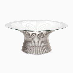 Tavolino da caffè di Warren Platner per Knoll, anni '60
