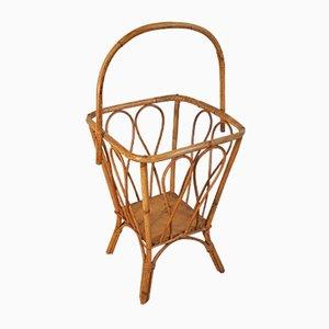 Wicker Basket, 1950s