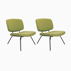 Vintage Chairs by Pierre Paulin for Thonet, Set of 2