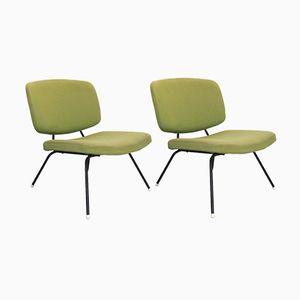 Vintage Stühle von Pierre Paulin für Thonet, 2er Set