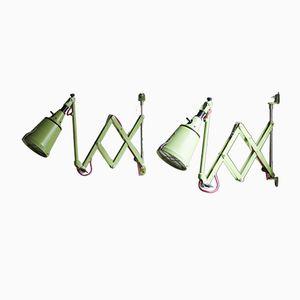 Lampes à Ciseaux Vintage par Curt Fischer pour Midgard DRGM, Set de 2