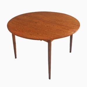 Tavolo da pranzo Mid-Century moderno allungabile in teak di G-Plan, anni '70
