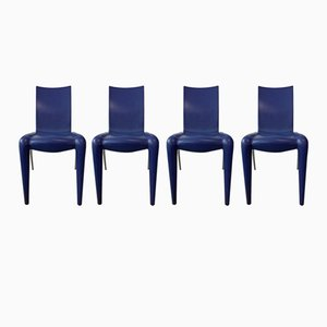 Louis 20 Chairs by Philippe Starck for Vitra, 1990s, Set of 4