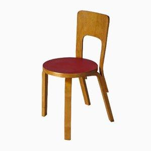 Modell 66 Stuhl von Alvar Aalto für Artek