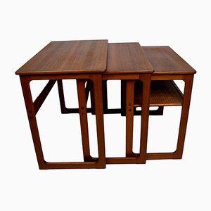Tavolini a incastro 219 di Johannes Andersen & Illum Wikkelsø per CFC Silkeborg