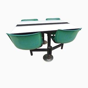 Modus Tisch mit Stühlen von Osvaldo Borsani für Tecno, 1970er
