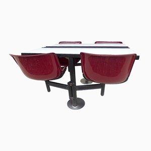 Modus Tisch mit Stühle von Osvaldo Borsani für Tecno, 1970er