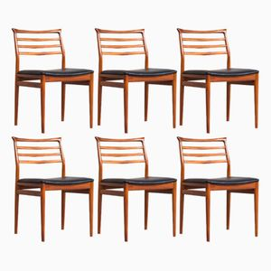 Vintage Dining Chairs by Erling Torvits for Sorø Stolefabrik, Set of 6