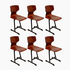 Side Chairs from Flötotto, 1970s, Set of 6