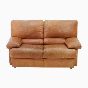 Vintage 2-Seater Butterscotch Leather Sofa from Cierre Imbottiti