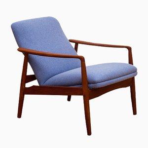 Mid-Century Teak Lounge Chair by Alf Svensson for Søren J. Ladefoged
