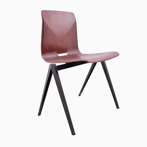 Vintage S22 Chair in Red from Galvanitas