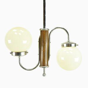 Art Deco S-Form Ceiling Light