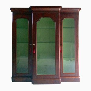 Antique Victorian Haberdashery Display Cabinet in Mahogany