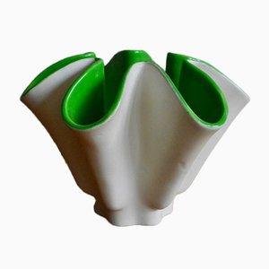 Vaso free form vintage di Blanche Letalle per Saint Clément