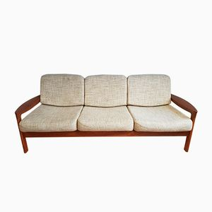 Danish Teak 3-Seater Sofa by Sven Ellekaer for Komfort, 1960s