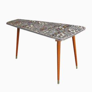 Vintage Mosaik Nieren-Couchtisch, 1960er