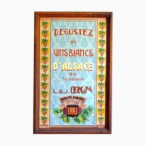 Vintage Art Deco Wein Poster
