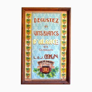 Vintage Art Deco Wine Poster