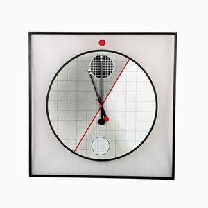 Orologio Morphos grande di Kurt Delbanco per Acerbis Design, anni '90