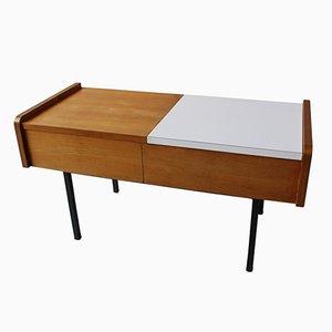 Table Console avec Rangement, France, 1950s