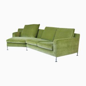 Green Corner Sofa by Antonio Citterio for B&B Italia / C&B Italia, 1995