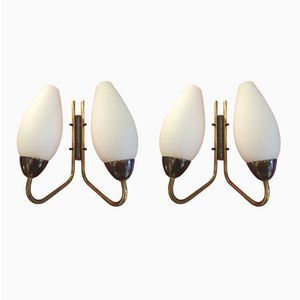 Wall Sconces, 1950s, Set of 2