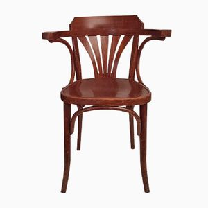 Model B25 Bentwood Chair by Michael Thonet for Drevounia, 1920s