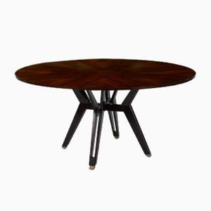 Vintage Rosewood Dining Table by Ico Parisi for MIM