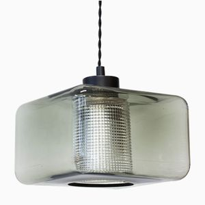 Glass Pendant Lamp by Carl Fagerlund for Orrefors, 1960s