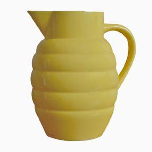 Brocca in ceramica di Saint Clément, Francia, anni '50