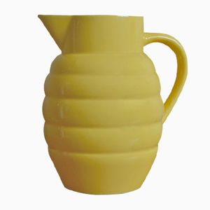French Ceramic Pitcher from Saint Clément, 1950s