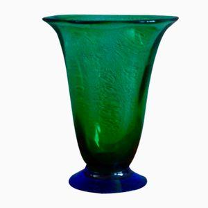 Zweifarbige Schwedische Vintage Vase von Orrefors