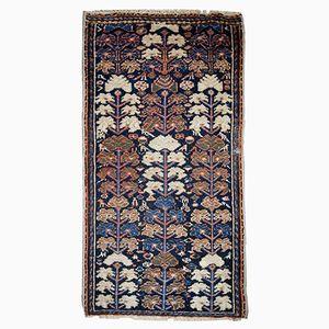 Handmade Persian Hamadan Rug, 1920s