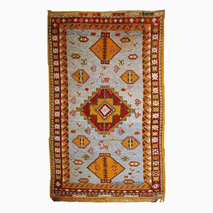 Handgemachter Antiker Marokkanischer Berber Teppich, 1910er