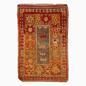 Handgemachter Antiker Türkisch Anatolischer Teppich, 1910er