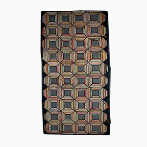 Handgemachter Antiker Amerikanischer Teppich, 1900er