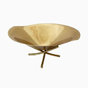 Tripod Brass Bowl by Günter Kupetz for WMF, 1950s