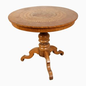 Table avec Incrustations de Sorrento, Italie,1890s