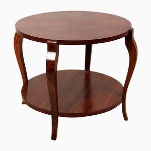 Tavolino da caffè Art Déco in palissandro, anni '20
